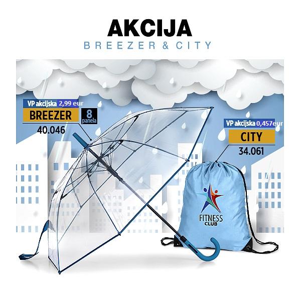 CITY i BREEZER – AKCIJA