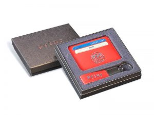 Set etui za kartice i privezak