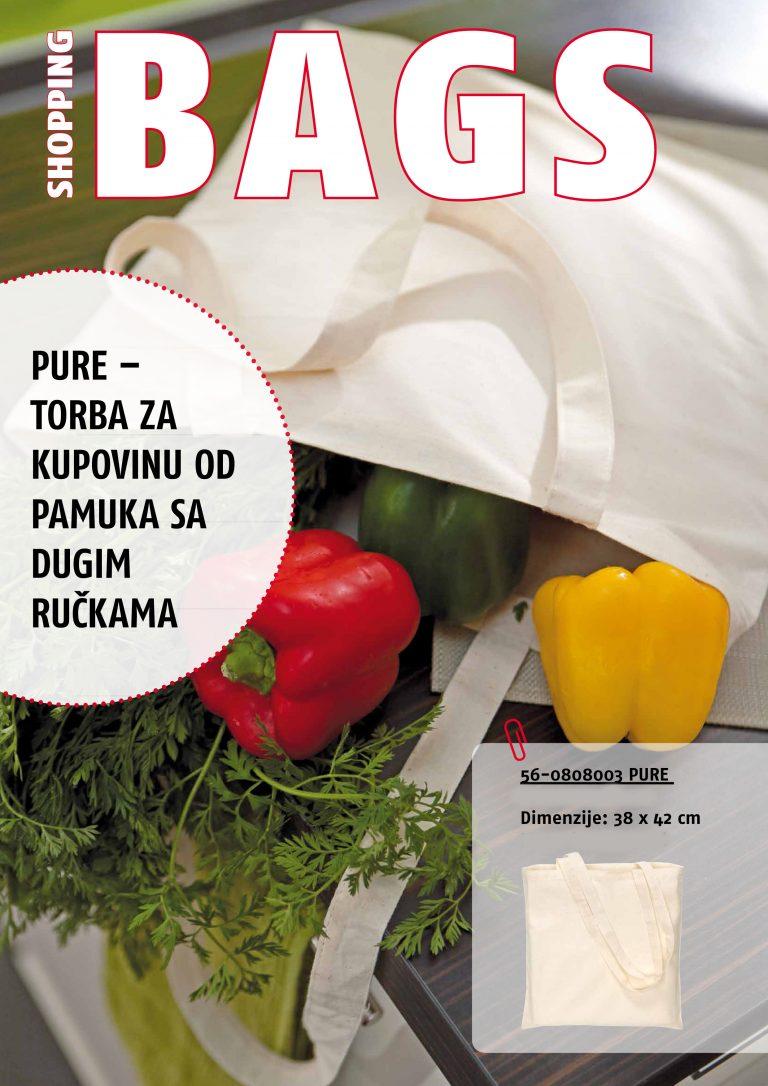 PURE pamučne torbe za kupovinu