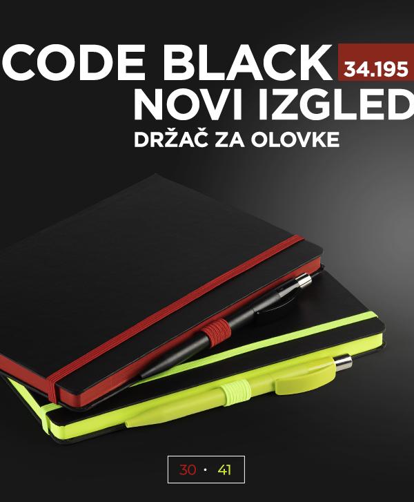NOVI IZGLED Code Black