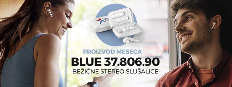 BLUE – bežične stereo slušalice
