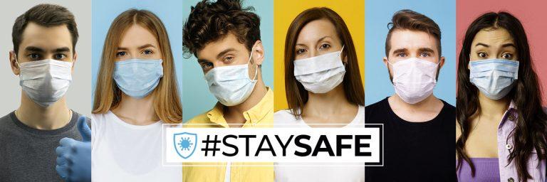 STAY SAFE – zaštitna oprema – MASKE, VIZIRI, RUKAVICE