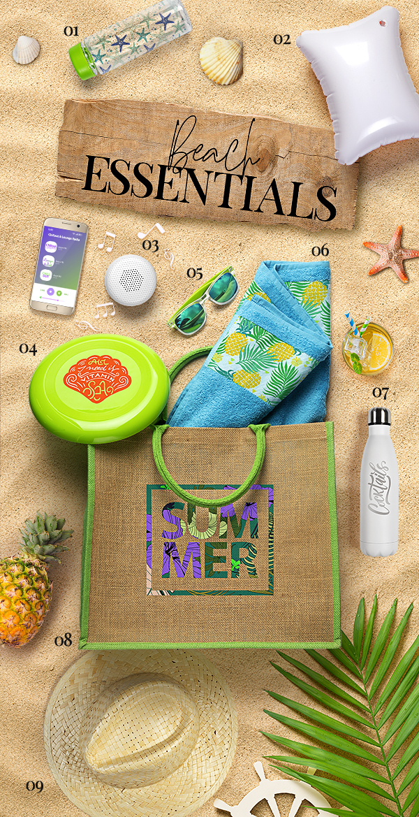 PROMOBOX BEACH ESSENTIALS