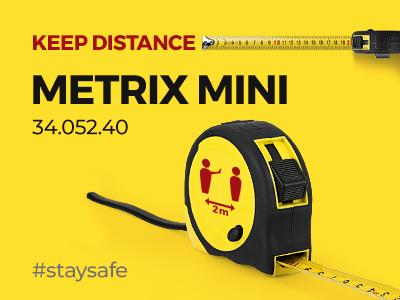 Održavajte distancu uz METRIX