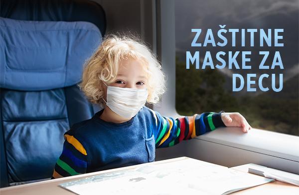 Zaštitne maske za decu