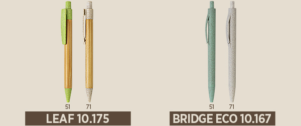 eko olovke sa stampom impress