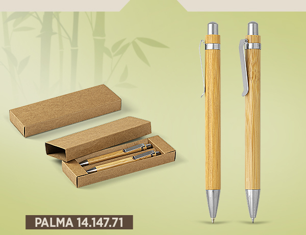 eko olovke sa laserskom gravurom impress