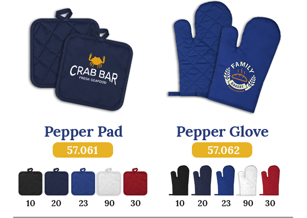 promo rukavice za kuhinjui podmetaci sa stampom