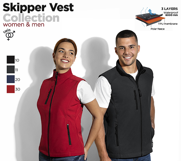 SKIPPER VEST & SKIPPER VEST WOMEN
