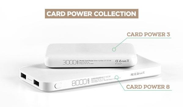card power 8 power bank impress3