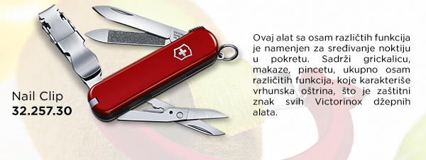 victorinox nail clip impress