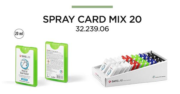 spray card mix impress